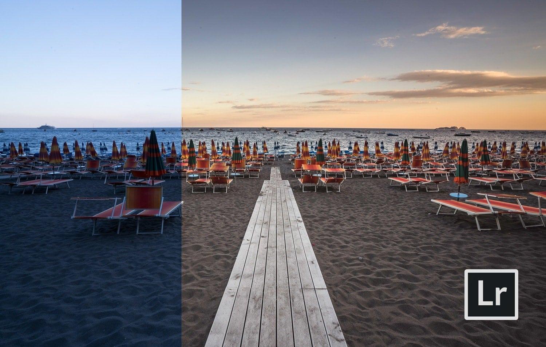 Free-Lightroom-Preset-Warm-Beach