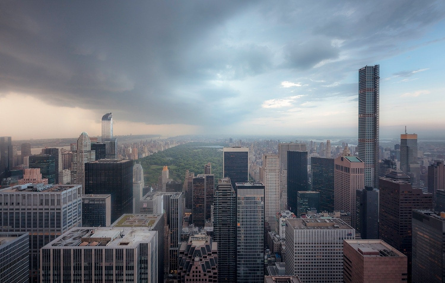 HDR Photography New York in the Rain