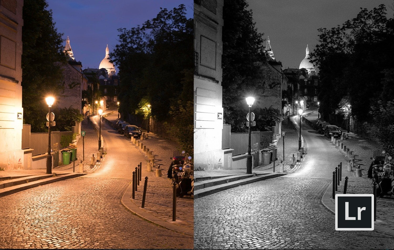 Free-Lightroom-Preset-Noir-Nights-Before-and-After