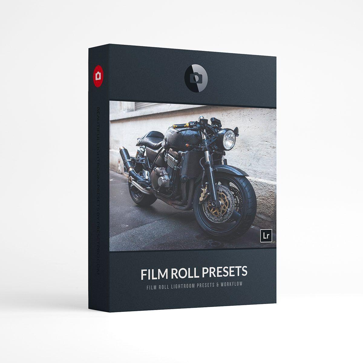 Beautiful Lightroom Presets Film Roll Collection Presetpro.com