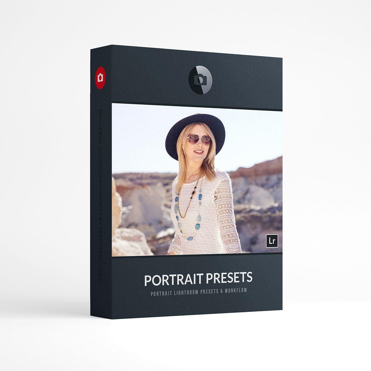 Beautiful Lightroom Presets Portrait Collection Presetpro.com