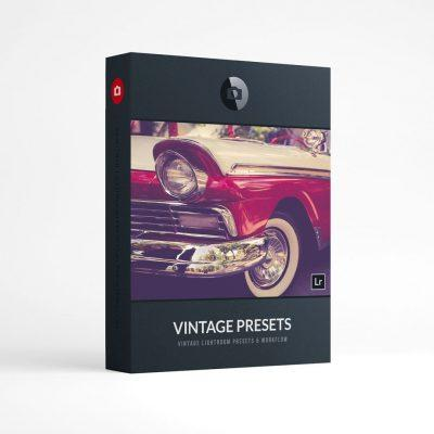 Beautiful Lightroom Presets Vintage Collection Presetpro.com