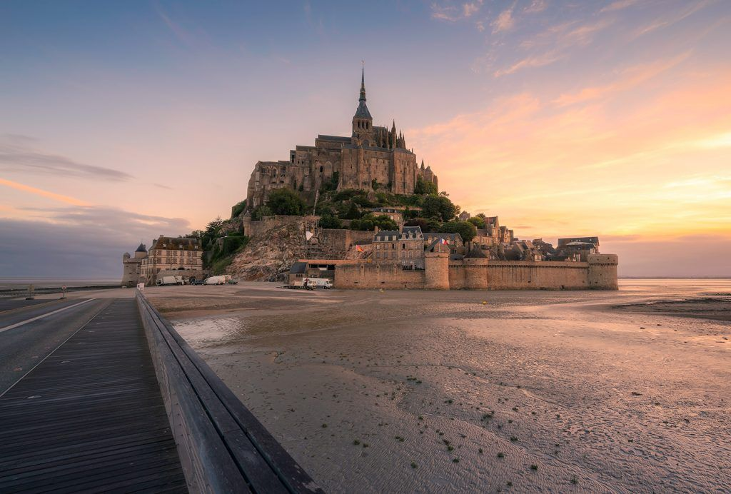 Landcsape Photography Morning Glory Mont St Michel Presetpro.com