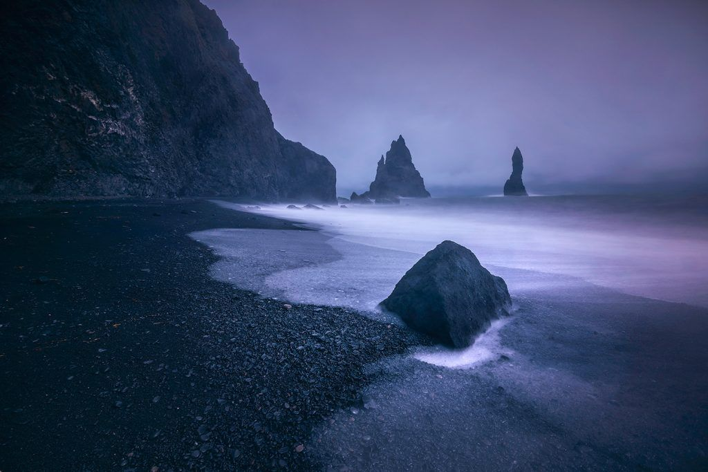 Landscape-Photography-Long-Exposure-Black-Sand-Beach