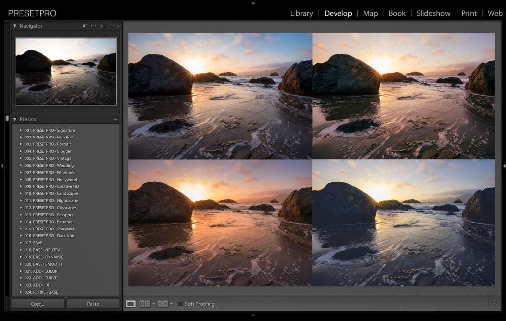 5-Creative-Looks-in-Lightroom-San-Francisco-Beach-Presetpro