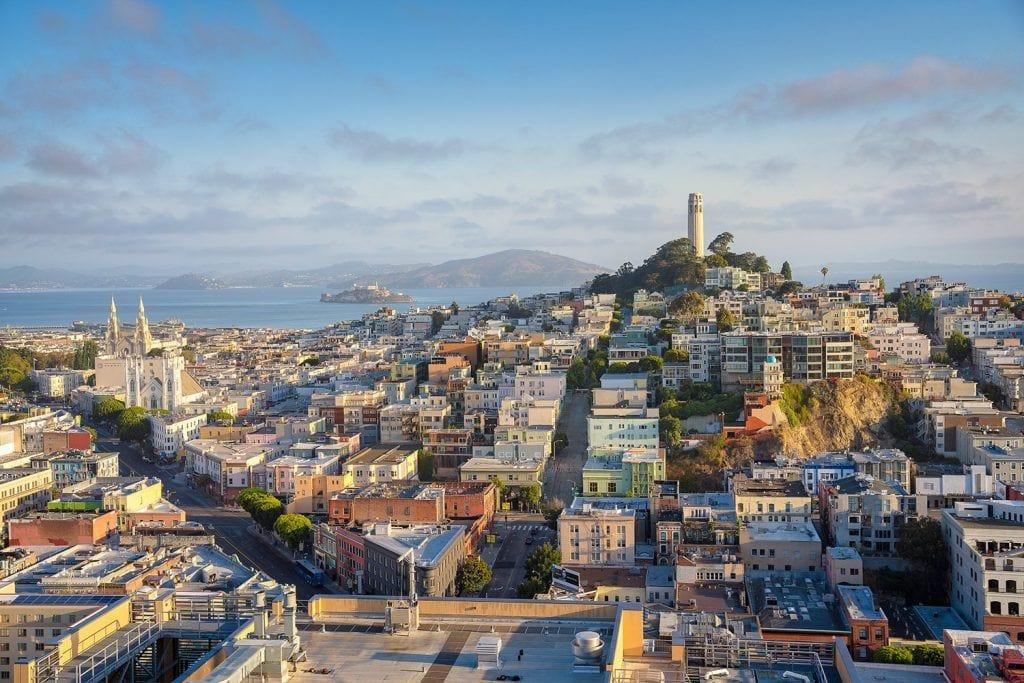 Cityscape Photography Colorful San Francisco Presetpro.com