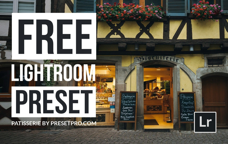 Free-Lightroom-Preset-Patisserie-Cover-Presetpro