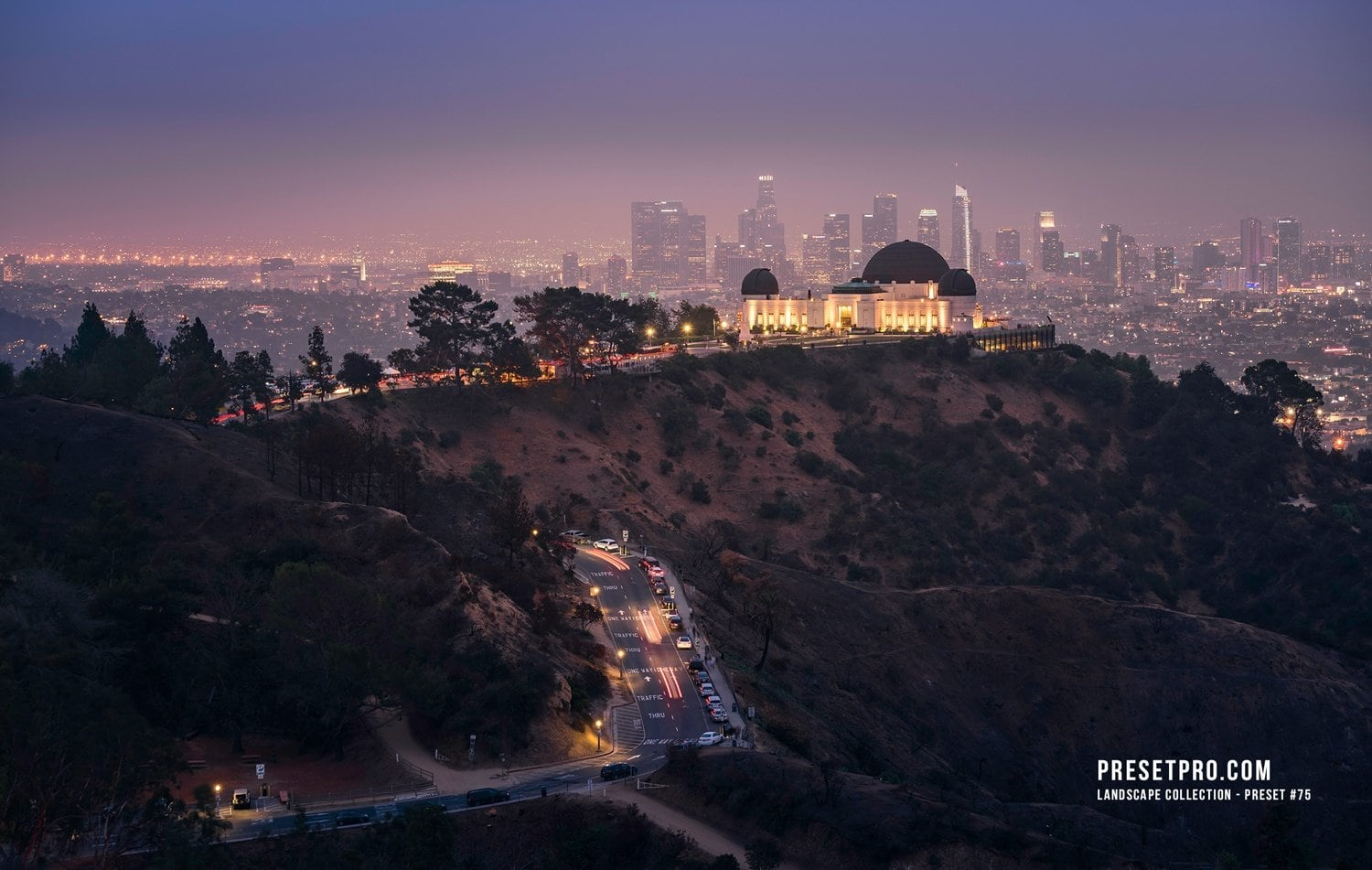 Creative Flow Lightroom Presets and Profiles Hollywood Hills C010-P75