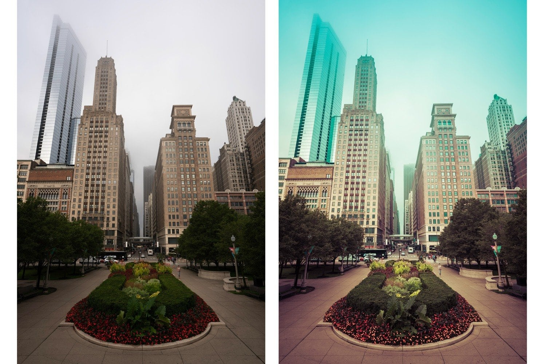 Emerald City Before and After Presetpro.com