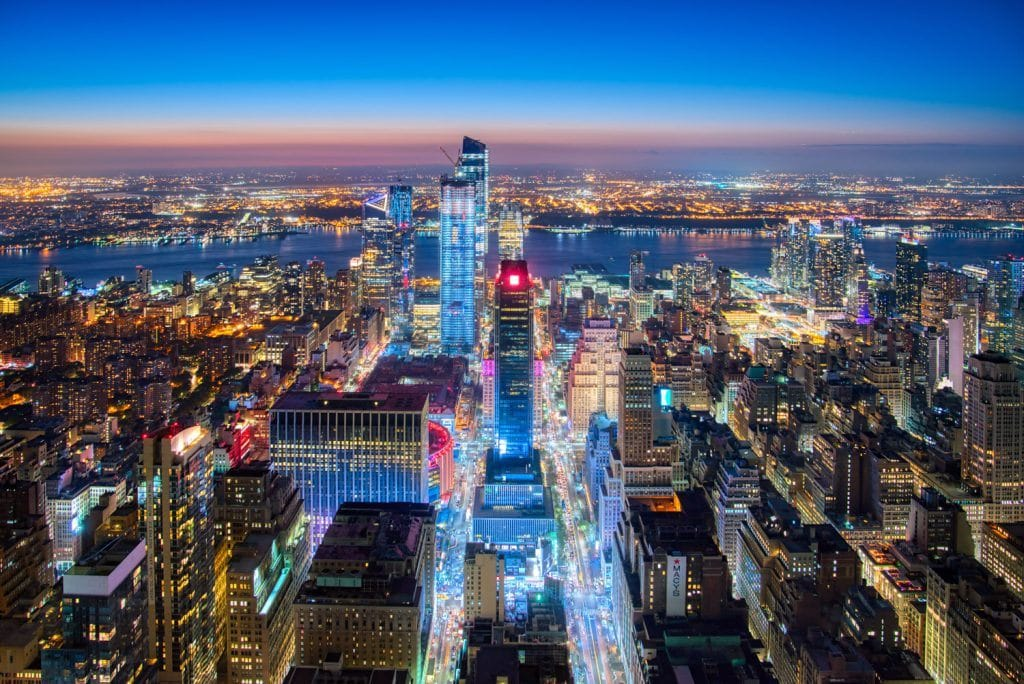 HDR Photography Bright Light City New York Presetpro.com