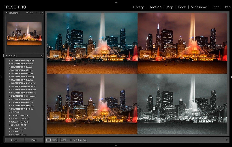 Creative-Flow-Lightroom-Presets-and-Profiles-Chicago-Nights-Presetpro.com