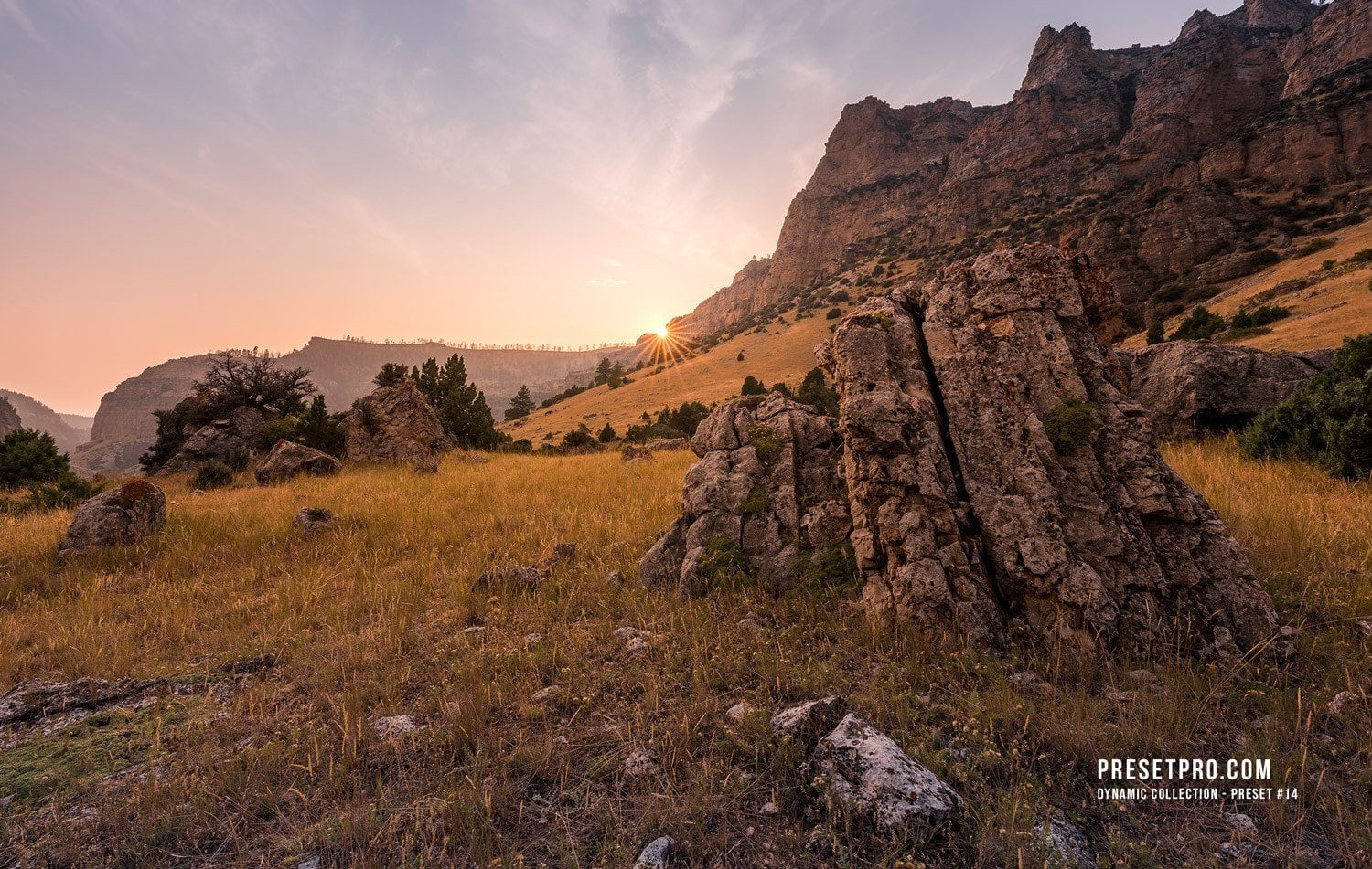 1. Creative Flow Lightroom Presets and Profiles Mountain Sunset