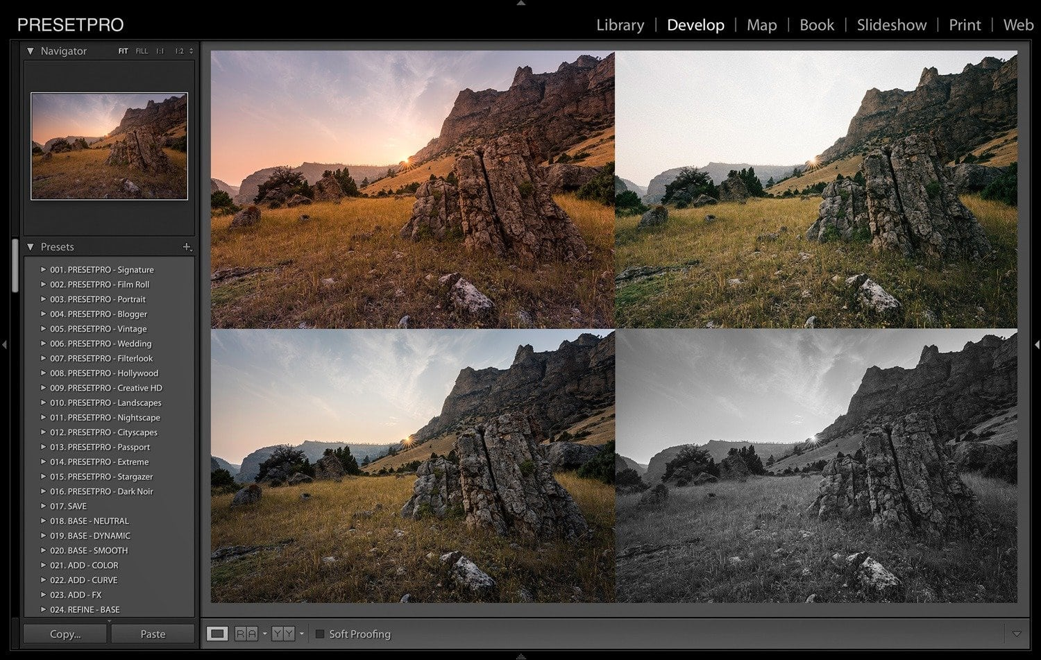 Creative-Looks-in-Lightroom-Mountain-Sunset-Cover