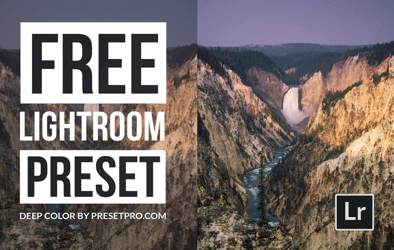 Free-Lightroom-Preset-Deep-Color-Cover-Presetpro.com