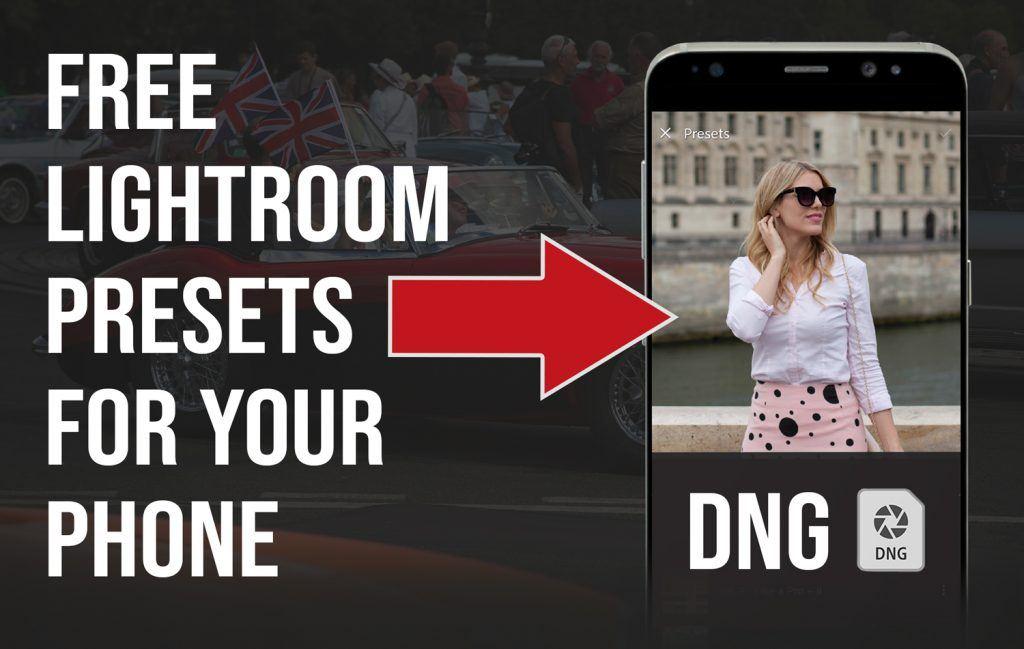 Free Mobile DNG Presets for Lightroom Presetpro.com
