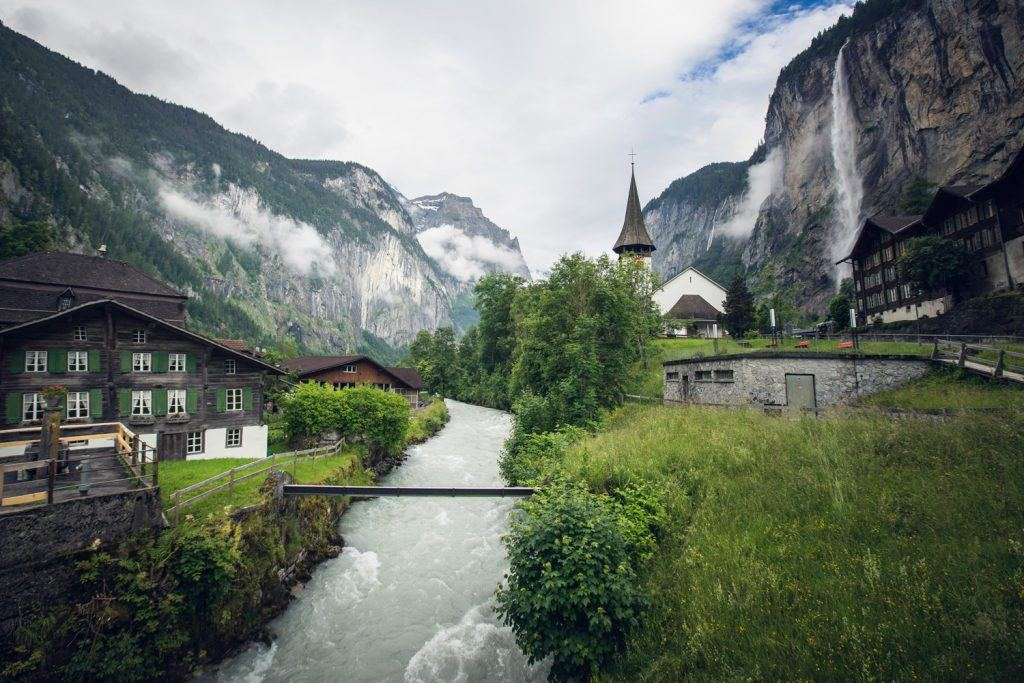 Landscape Photography Lauterbrunnen Switzerland Presetpro
