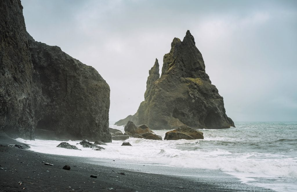 Film Emulation Lightroom Presets - Black Sand Beach Iceland