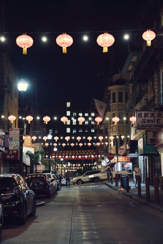 Film Emulation Lightroom Presets - San Francisco China Town
