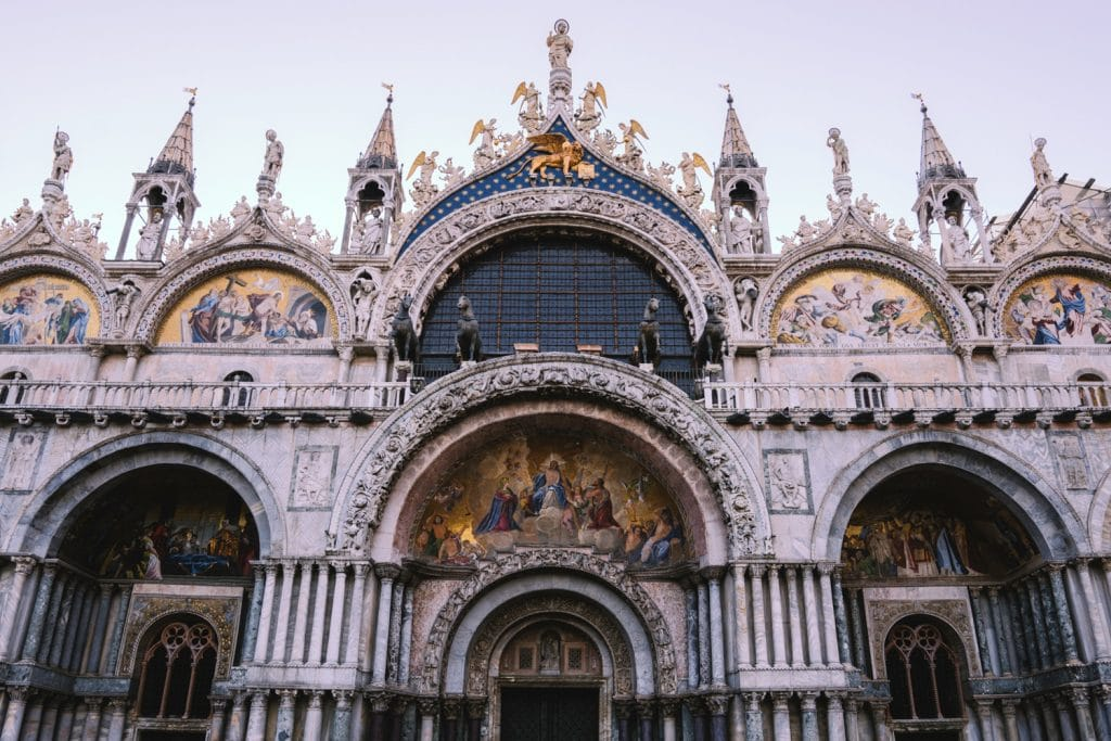 Film Emulation - Saint Mark's Basilica in Venice Italy