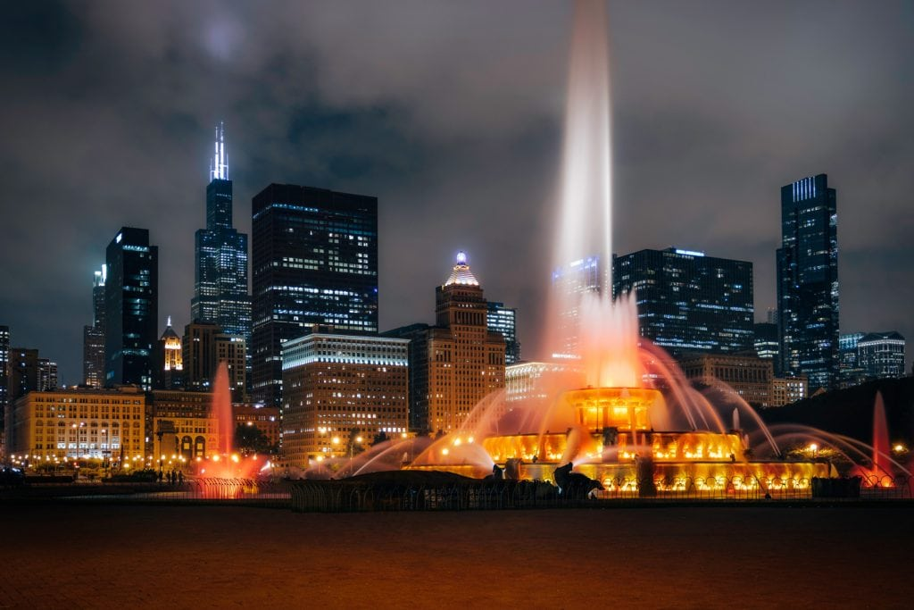 HDR-Photography-Buckingham-Fountain-Chicago Presetpro.com