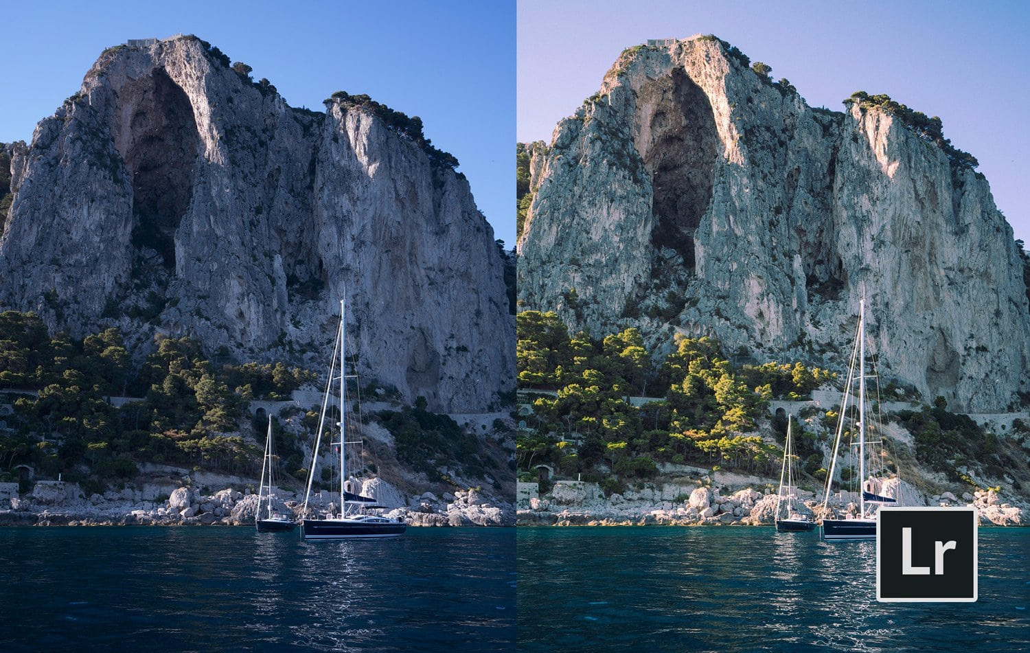 Free-Lightroom-Preset-Sailboats-Showing-Before-and-After-Presetpro.com