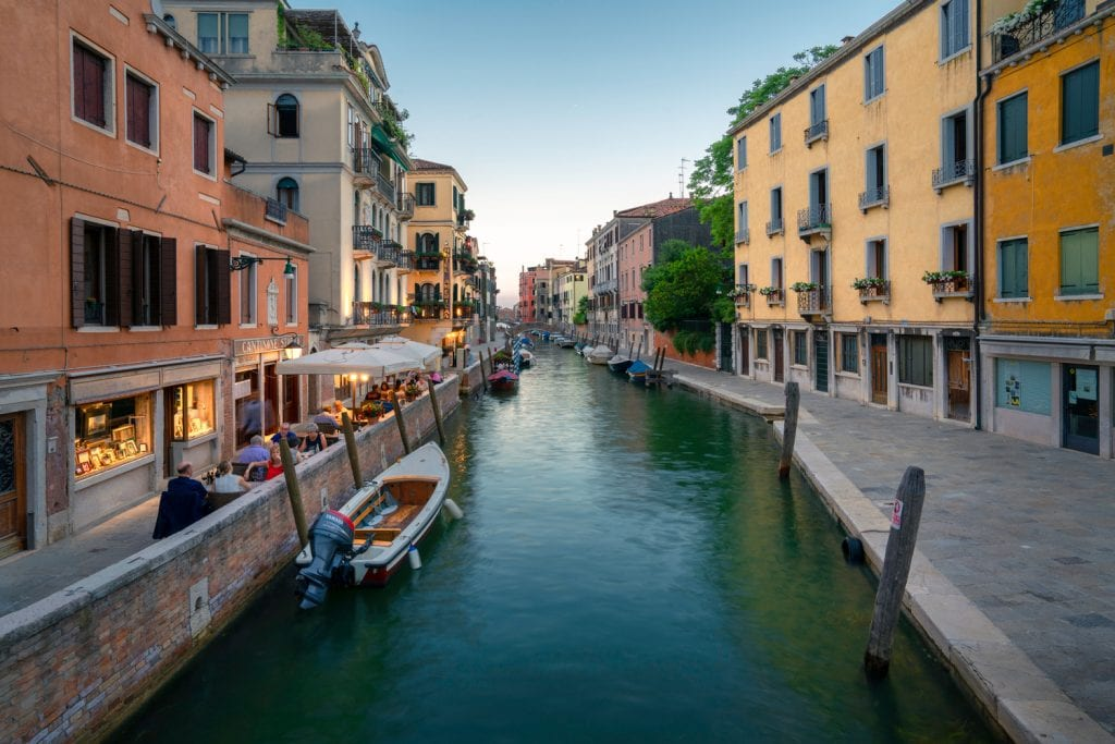 HDR Photography | Canal in Venice Italy - Creative Flow Lightroom Presets and Profiles