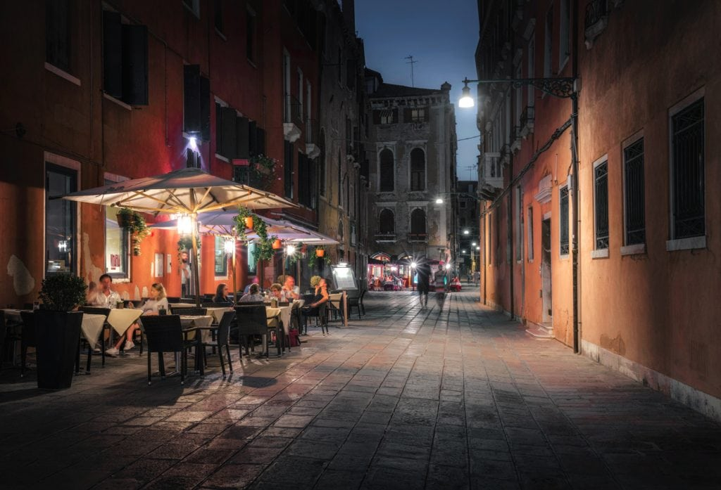 HDR-Photography-Ambience in Venice Italy
