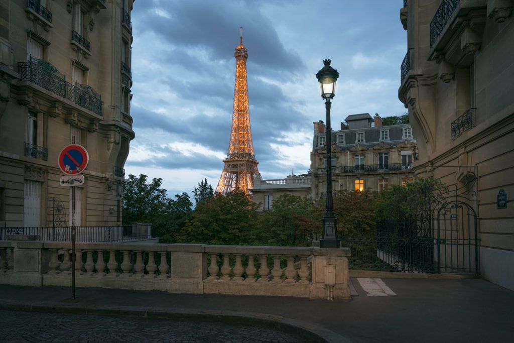 HDR Photography Blue Hour - Summer Night in Paris