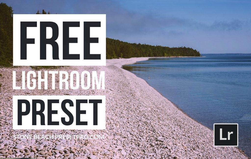Free-Lightroom-Preset-Stone-Beach-Cover-Presetpro.com