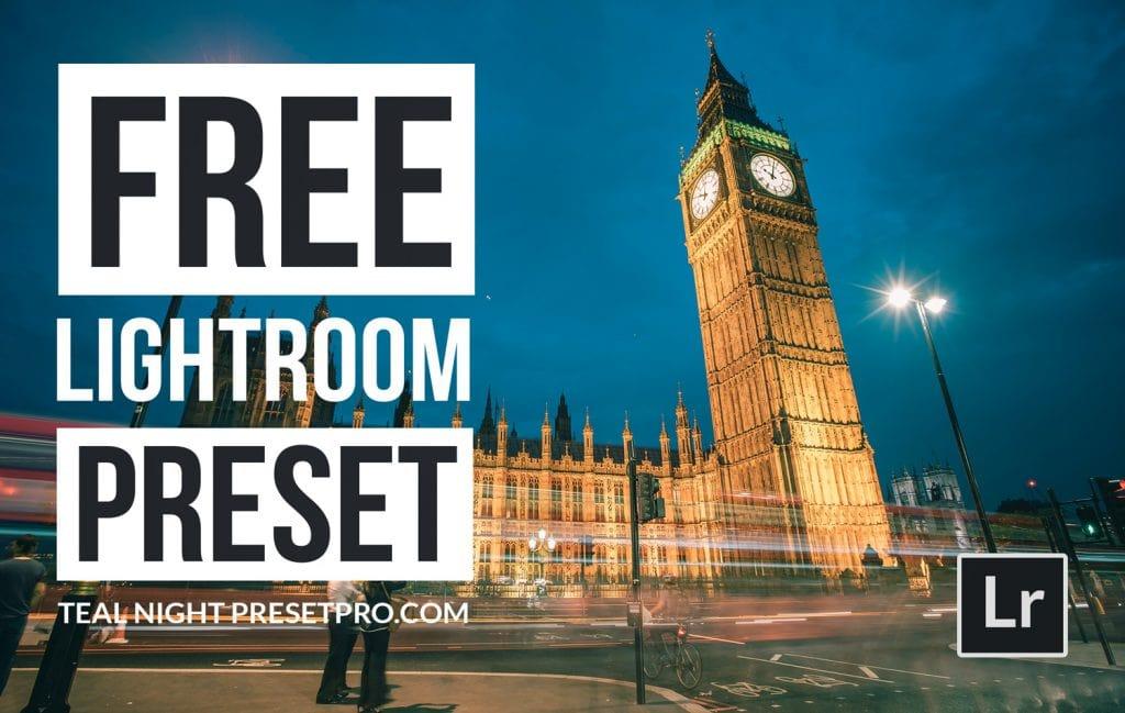Free-Lightroom-Preset-Teal-Night-Cover-Presetpro.com
