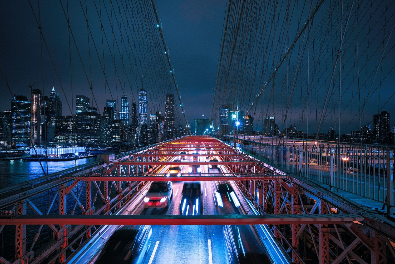Nightscape-Photography-Stream-of-Lights-in-NYC-Presetpro.com