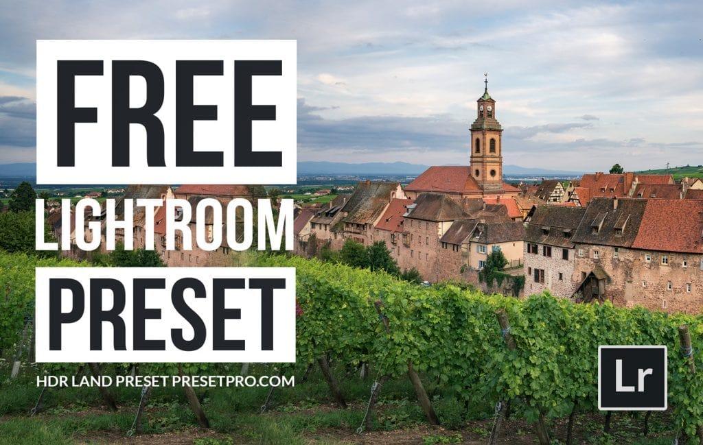 Free-Lightroom-Preset-HDR-Land-Video-Cover-Presetpro.com