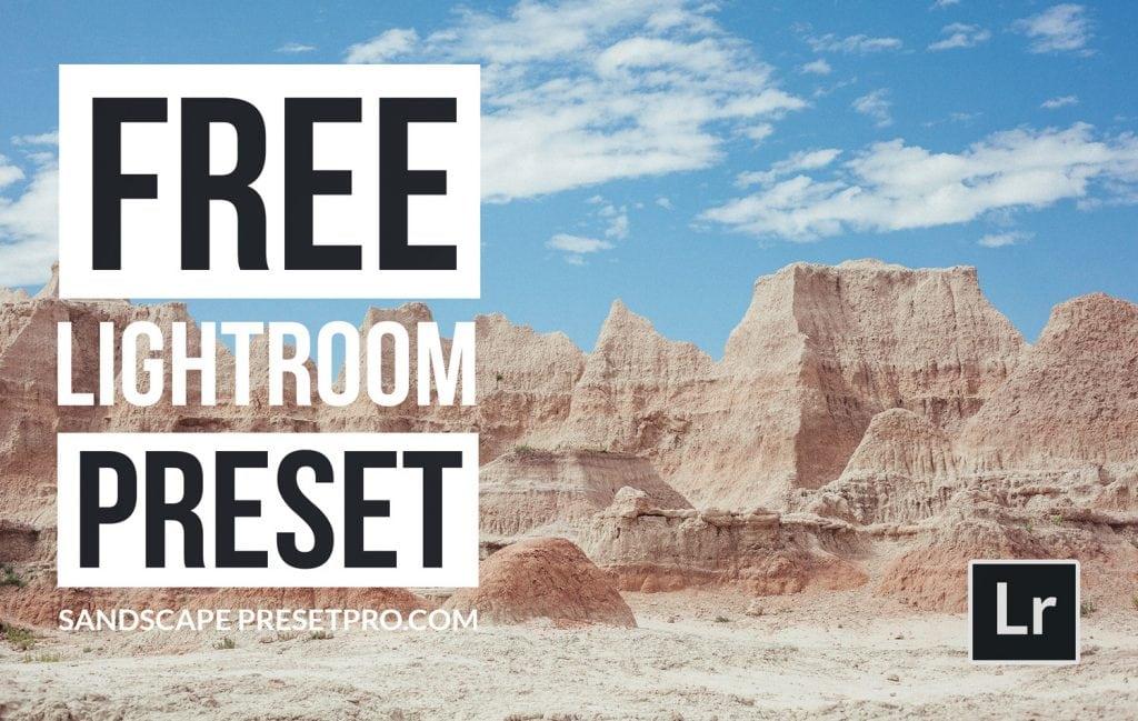 Free-Lightroom-Preset-Sandscape-Cover-Presetpro.com