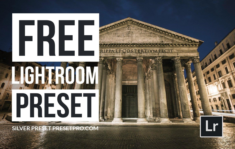 Free-Lightroom-Preset-Silver-Preset-Cover-Presetpro.com
