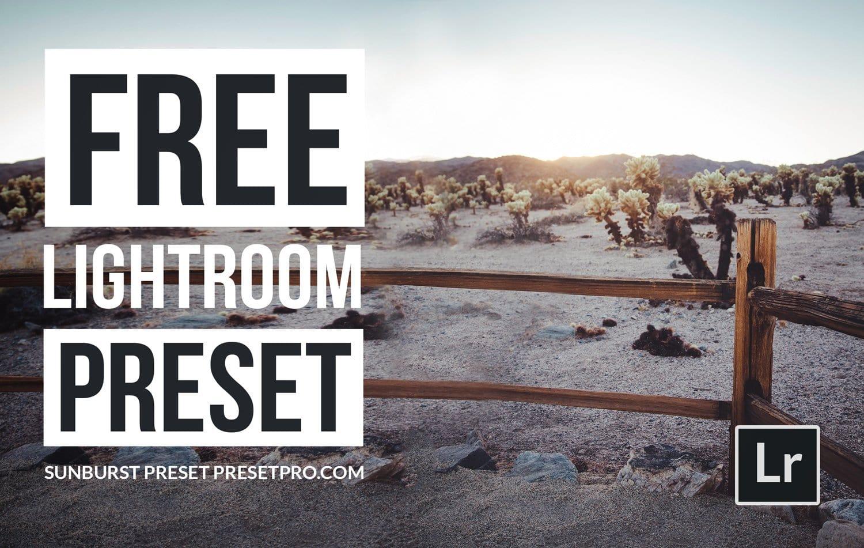 Free-Lightroom-Preset-Sunburst-Cover-Presetpro.com