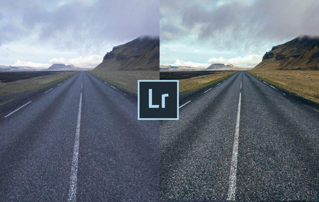 Free-Lightroom-Preset-Long-Road-Cover-Before-After-Presetpro.com