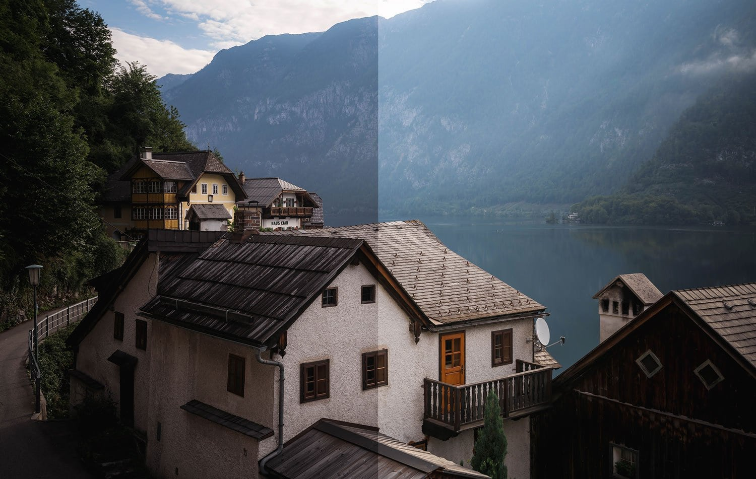 Misty-Mountain-Lake-Before-and-After-Lightroom-Edit-Cover
