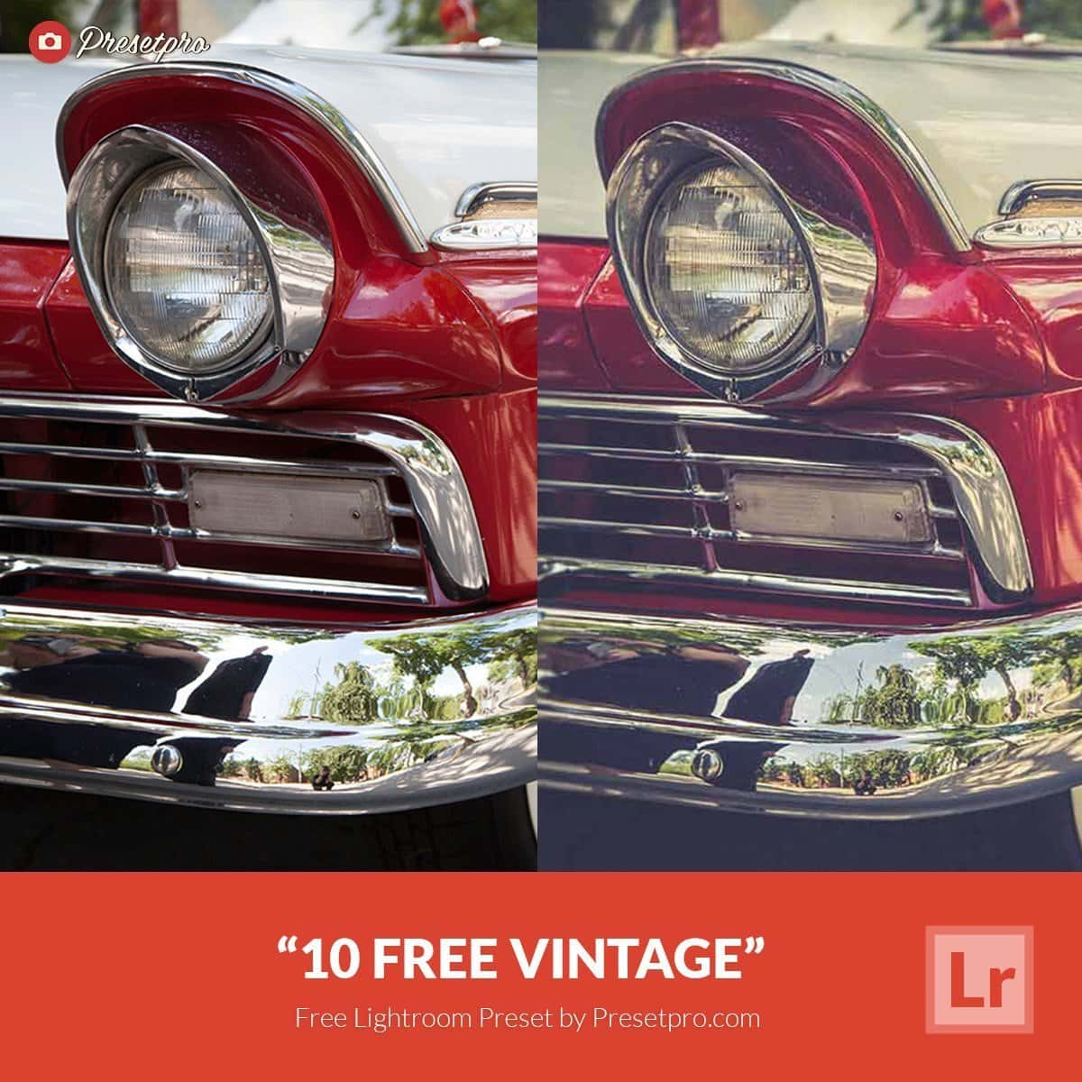 Free Lightroom Preset 10 Free Vintage Presets Presetpro.com