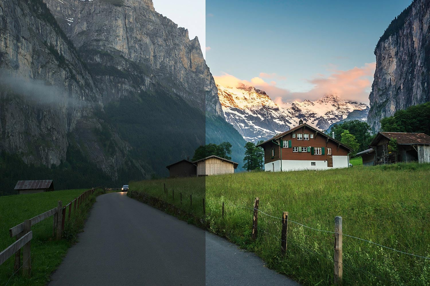 Beautiful-Lightroom-Presets-and-Profiles-Swiss-Road-Before-and-After-Presetpro.com