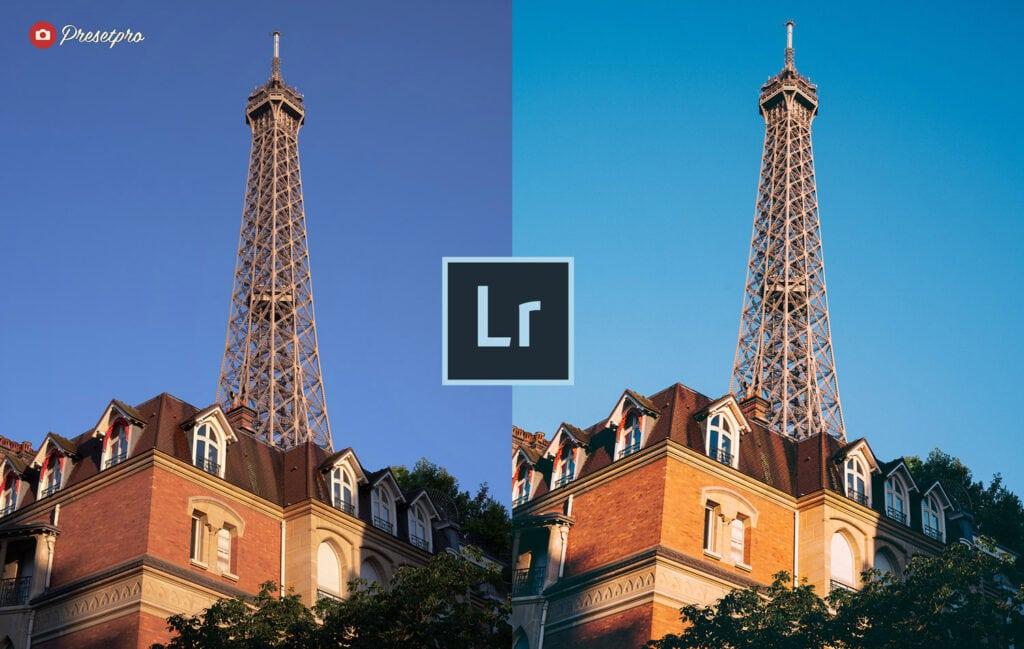 Free Lightroom Preset   Eiffel Tower
