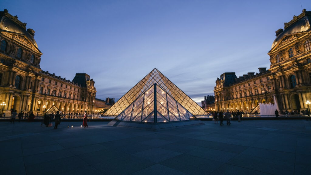 Night Photography | Louvre at Night