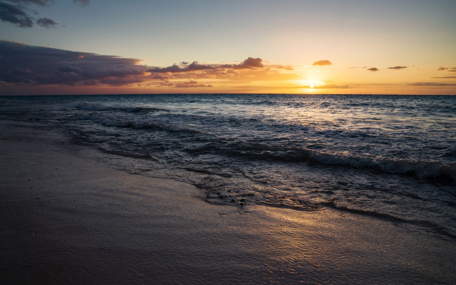 HDR Photography Ocean Sunset