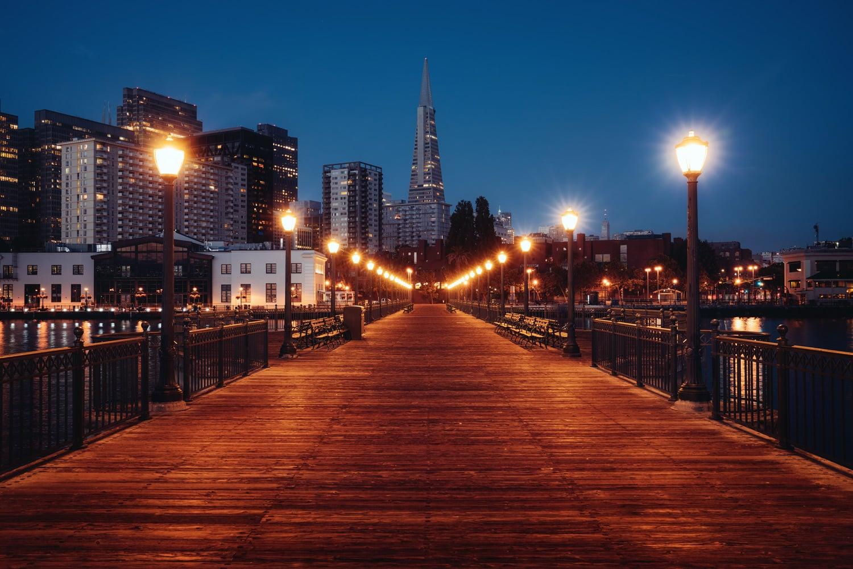 HDR Photography San Francisco Pier