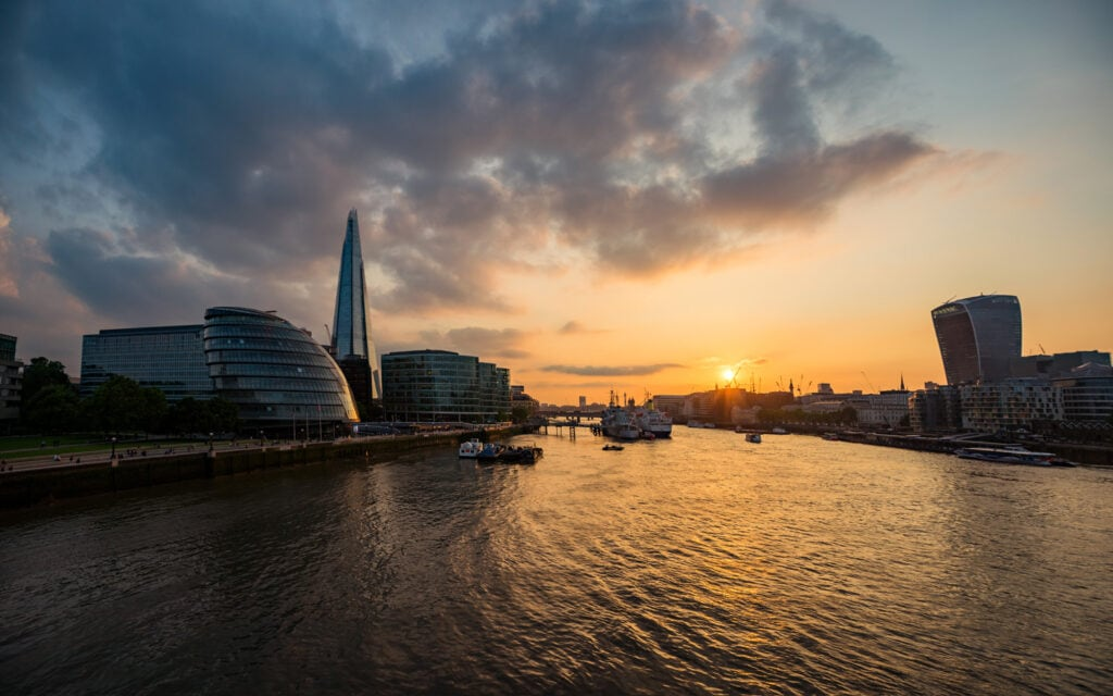 Photography | London Sunset from Tower Bridge