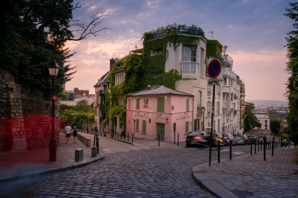 Beautiful Montmartre Paris