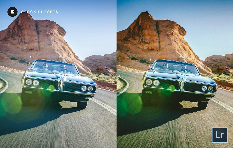 Free-Lightroom-Preset-Roadrunner-Before-and-After-Stockpresets