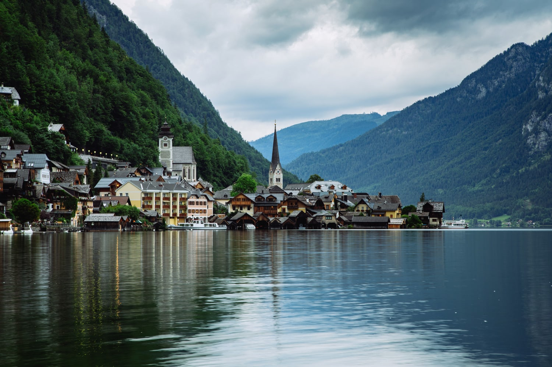 Alpine Lake Hallstatt Austria Presetpro.com