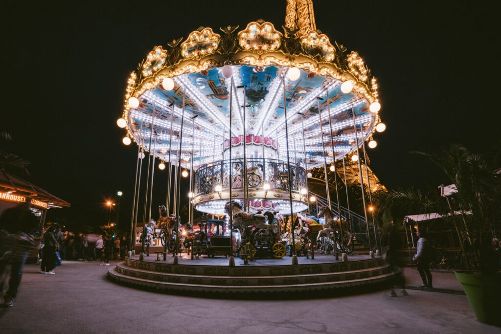The Carousel in Paris France