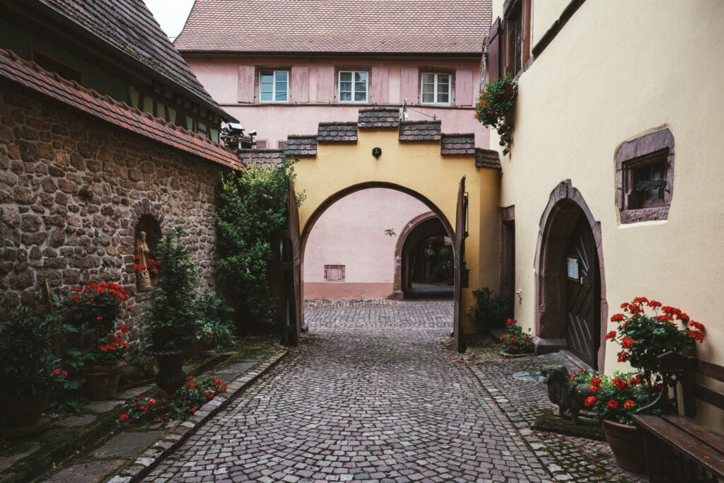 Arches in Alsace Lightroom Edit