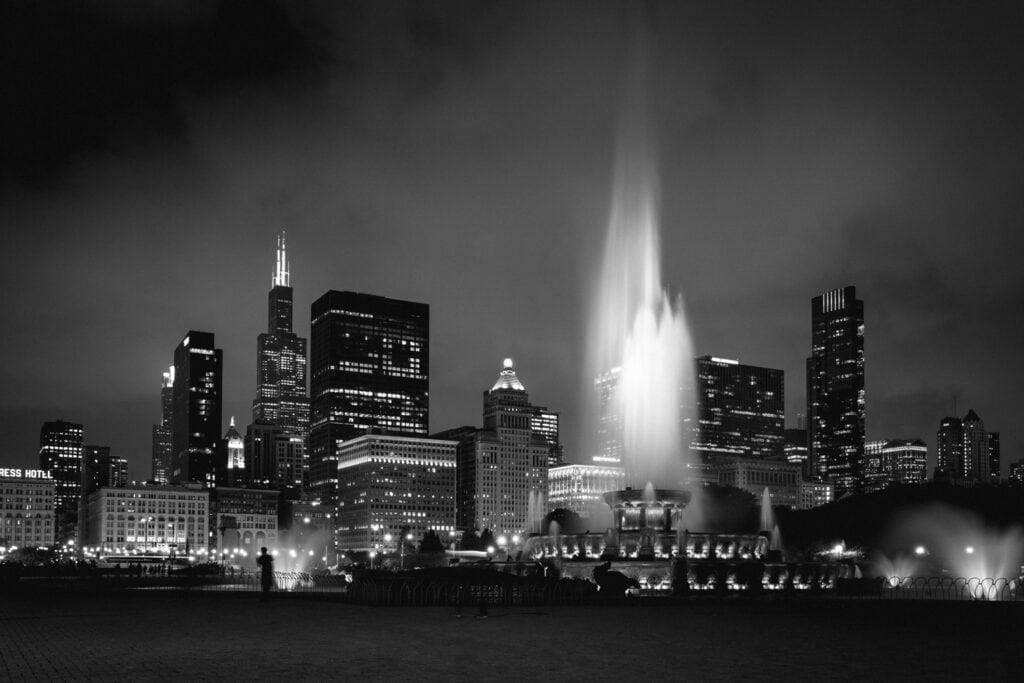 Chicago at Night Lightroom Presets and Profiles